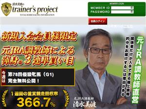 清水美波のtrainer's projectの画像