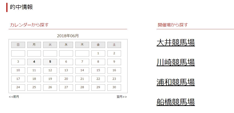 ホースリサーチ東京 的中実績