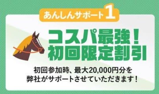 最大20,000円分の割引